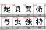 kanji look and learn bai 8